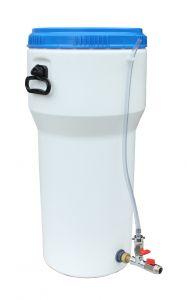 Microsistema AQUALOOP per produzione di acqua potabile* ad energia zero.