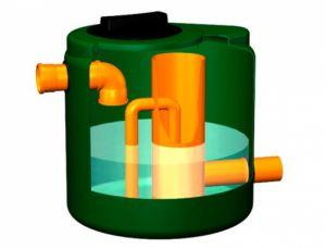 Pozzetto di livello per impianto di fitodepurazione modello DD150FT